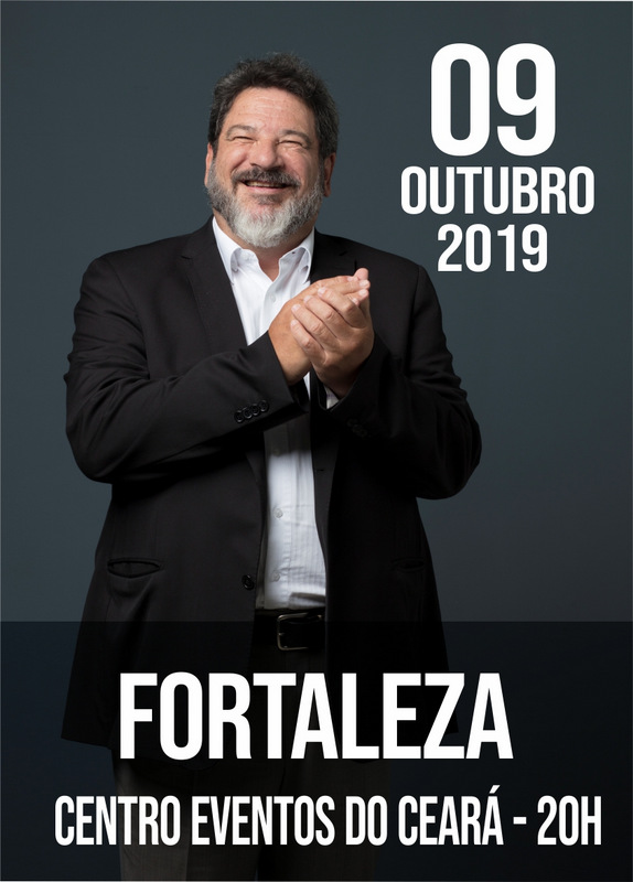 "09.OUT.2019 | FORTALEZA 20h  ""Superar, Inovar e Transformar - A Sorte Segue a Coragem"""